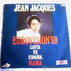 Discos de vinilo: JEAN JACQUES - 1969. Lote 10457872