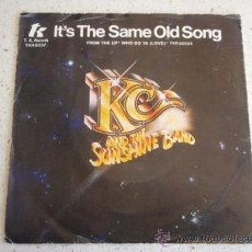 Discos de vinilo: KC AND THE SUNSHINE BAND ( IT'S THE SAME OLD SONG - LET'S GO PARTY ) HOLANDA-1978 SINGLE45. Lote 10461229