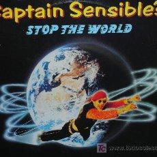 Discos de vinilo: CAPTAIN SENSIBLE´S-STOP THE WORLD-MAXISINGLE. Lote 26866655