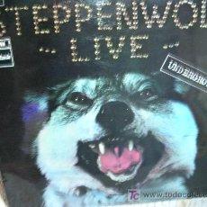 Discos de vinilo: STEPPENWOLF-LIVE LP - ESPAÑA ORIGINAL. Lote 55687732