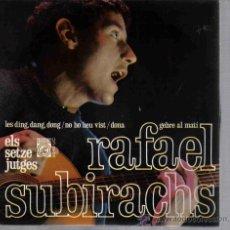 Discos de vinilo: EP RAFAEL SUBIRACHS - LES DING DANG DONG . Lote 22578982
