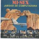 Discos de vinilo: MI-SEX,JUEGOS DE COMPUTADORA DEL 80. Lote 10486493