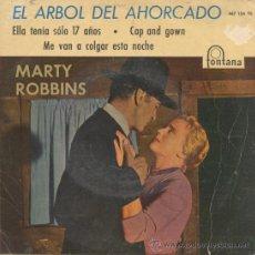Discos de vinilo: MARTY ROBBINS,EL ARBOL DEL AHOCARDO DEL 60. Lote 10486762