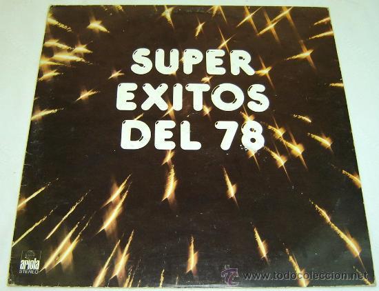 DISCO LP VINILO SUPEREXITOS DEL 78 -ARIOLA- (Música - Discos - LP Vinilo - Grupos Españoles de los 70 y 80)