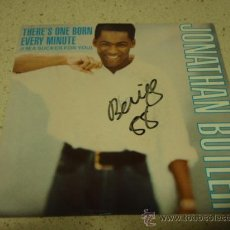 Discos de vinilo: JONATHAN BUTLER ( THERE'S ONE BORN EVERY MINUTE - GOING HOME ) 1987-ENGLAND SINGLE45 JIVE. Lote 10517444