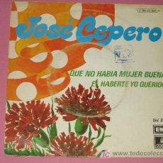 Discos de vinilo: JOSE CEPERO - EMI - AÑO 1974 - . Lote 10525021