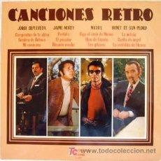 Discos de vinilo: CANCIONES RETRO - JORGE SEPÚLVEDA, JAIME MOREY Y OTROS. Lote 27456274