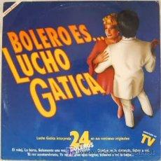 Discos de vinilo: LUCHO GATICA - 24 BOLEROS. LP DOBLE. Lote 26322049