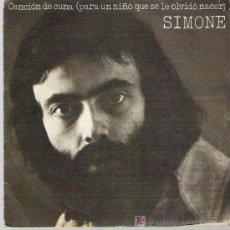 Discos de vinilo: SIMONE - CANCION DE CUNA *** CBS 1972. Lote 12274196