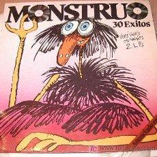 Discos de vinilo: MONSTRUO 30 EXITOS . Lote 11017761
