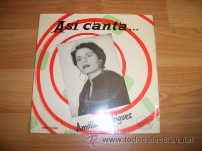 AMALIA RODRIGUEZ (Música - Discos de Vinilo - EPs - Étnicas y Músicas del Mundo)