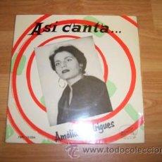 Discos de vinilo: AMALIA RODRIGUEZ. Lote 20057449