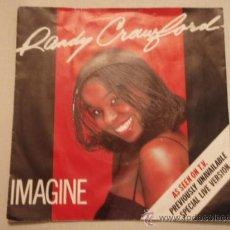 Discos de vinilo: RANDY CRAWFORD ( IMAGINE - TENDER FALLS THE RAIN ) ENGLAND-1980 SINGLE45 WARNER BROS. Lote 10545106