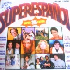 Discos de vinilo: SUPER ESPAÑOL - BELTER - 1978 - DOBLE LP. Lote 10549364