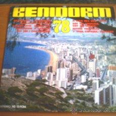 Discos de vinilo: BENIDORM 78 - DIAL DISCOS. Lote 21166434