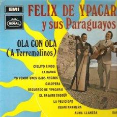 Discos de vinilo: FELIX DE YPACARAY Y SUS PARAGUAYOS LP SELLO EMI-REGAL AÑO 1969 . Lote 10550842