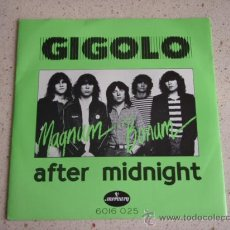 Discos de vinilo: MAGNUM BONUM ( GIGOLO - AFTER MIDNIGHT ) USA-1980 SINGLE45 MERCURY. Lote 10553924