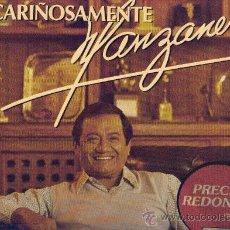 Discos de vinilo: ARMANDO MANZANERO LP CARIÑOSAMENTE MANZANERO CBS 465780 SPA VER FOTO ADICIONAL CANCIONES. Lote 10554414