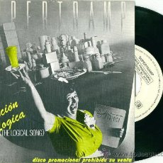 Discos de vinilo: SUPERTRAMP. THE LOGICAL SONG (VINILO - SINGLE 1979). Lote 10569646