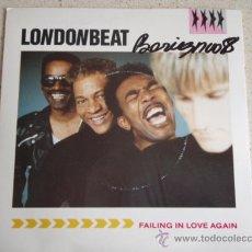 Discos de vinilo: LONDONBEAT ( FAILING IN LOVE AGAIN - JERK ) ENGLAND-1988 SINGLE45 RCA. Lote 10570311
