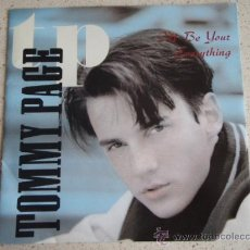 Discos de vinilo: TOMMY PAGE ( I'LL BE YOUR EVERYTHING - I'M FALLING IN LOVE ) USA-1990 SINGLE45 SIRE. Lote 10570738