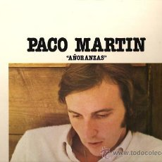 Discos de vinilo: PACO MARTIN LP SELLO NOVOLA AÑO 1976 PROMOCIONAL. Lote 10589654