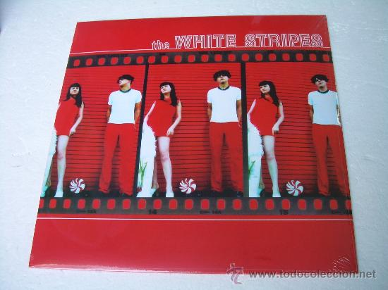 LP THE WHITE STRIPES WHITE STRIPES VINILO GARAGE PUNK (Música - Discos - LP Vinilo - Pop - Rock Extranjero de los 90 a la actualidad)