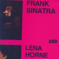 Discos de vinilo: FRANK SINATRA AND LENA HORNE LP ASTAN 1984 GERMANY VER FOTO ADICIONAL CANCIONES. Lote 10600147