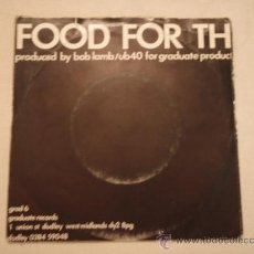Discos de vinilo: UB40 ( KING - FOOD FOR THOUGHT ) SWEDEN-1980 SINGLE45 GRADUATE RECORDS. Lote 10601411