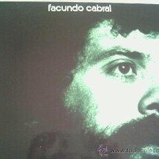 Discos de vinilo: FACUNDO CABRAL DEL 72. Lote 194606343