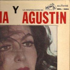 Discos de vinilo: MARIA FELIX LP SELLO RCA VICTOR EDITADO EN MEXICO, CARPETA DOBLE.. Lote 10629626