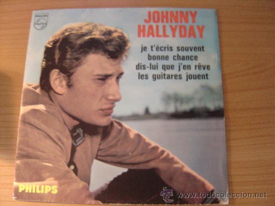 JOHNNY HALLYDAY - EP JOHNNY HALLYDAY EDICION FRANCESA EDITION FRANCAISE, PHILLIPS 434.862 (Música - Discos de Vinilo - EPs - Rock & Roll)