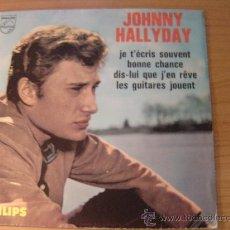 Discos de vinilo: JOHNNY HALLYDAY - EP JOHNNY HALLYDAY EDICION FRANCESA EDITION FRANCAISE, PHILLIPS 434.862. Lote 98526039