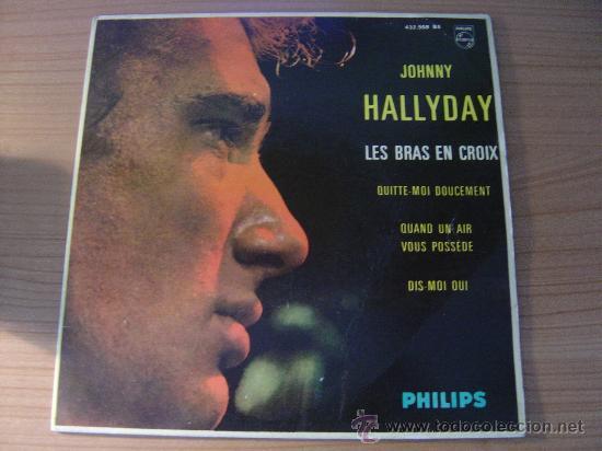 JOHNNY HALLYDAY - EP JOHNNY HALLYDAY EDICION ESPAÑOLA PHILLIPS 432.908 BE, AÑO 1963 (Música - Discos de Vinilo - EPs - Rock & Roll)