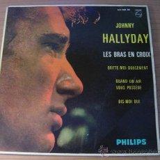Discos de vinilo: JOHNNY HALLYDAY - EP JOHNNY HALLYDAY EDICION ESPAÑOLA PHILLIPS 432.908 BE, AÑO 1963. Lote 26268206