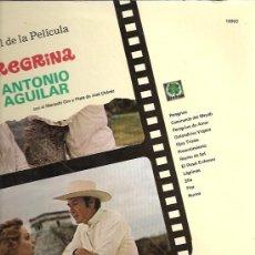 Discos de vinilo: ANTONIO AGUILAR LP SELLO TREBOL EDITADO EN MEXICO. DE LA PELICULA PEREGRINA.. Lote 10639501
