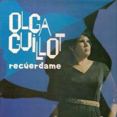 Discos de vinilo: OLGA GUILLOT LP SELLO ZAFIRO MUSART AÑO 1972.. Lote 10639753