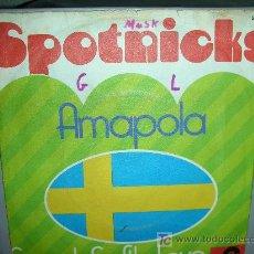 Discos de vinilo: SPOTNICKS-AMAPOLA. Lote 26946003
