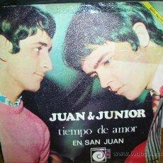 Discos de vinilo: JUAN & JUNIOR-EN SAN JUAN. Lote 27425108