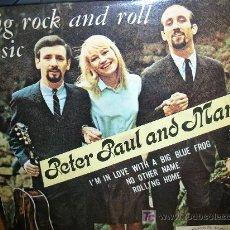 Discos de vinilo: PETER PAUL AND MARY E.P.. Lote 27004456