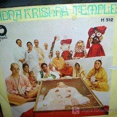 Discos de vinilo: RADNA KRISHNA TEMPLE-GEORGE HARRISON. Lote 26634178