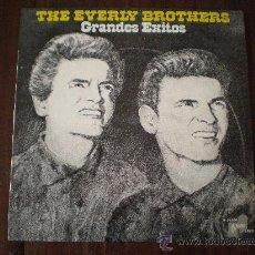 Discos de vinilo: THE EVERLY BROTHERS - GRANDES EXITOS - (ESPAÑA-BARNABY RECORDS-1974) ROCK & ROLL LP. Lote 24597485