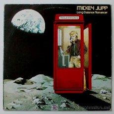 Discos de vinilo: MICKY JUPP ··· LONG DISTANCE ROMANCER - (LP 33 RPM) . Lote 22580882