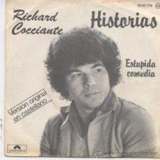 Discos de vinilo: RICHARD COCCIANTE,HISTORIAS DEL 78 EN ESPAÑOL. Lote 10676879
