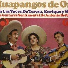 Discos de vinilo: TERESA / ENRIQUE Y MARIO LP SELLO HISPAVOX AÑO 1966 HUAPANGOS DE ORO. Lote 10682551