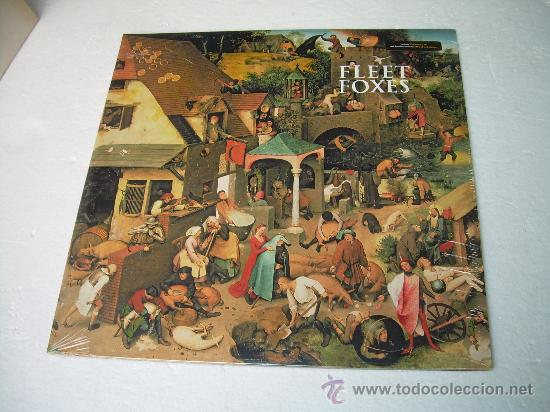 Discos de vinilo: 2LP FLEET FOXES ( FLEET FOXES + SUN GIANT EP) VINILO FOLK NEIL YOUNG EDICION AMERICANA - Foto 1 - 103474923