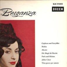Discos de vinilo: TERESA BERGANZA LP SELLO DECCA EDITADO EN ALEMANIA.. Lote 10710562