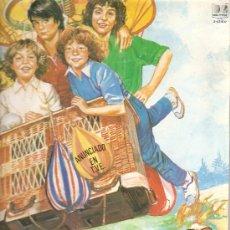 Discos de vinilo: LP INFANTIL - PARCHIS - LAS LOCURAS DE PARCHIS. Lote 54791524