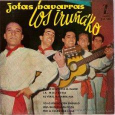 Discos de vinilo: DISCO VINILO EP Z-E 100 LOS IRUÑA KO JOTAS NAVARRAS AL VERTE NAVARRA MIA ED ZAFIRO. Lote 26921767