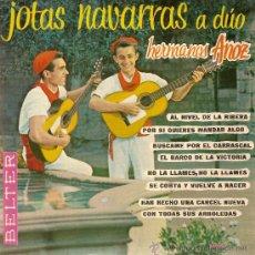 Discos de vinilo: DISCO VINILO EP 50950 JOTAS NAVARRAS A DUO HERMANOS ANOZ ED BELTER. Lote 26921769